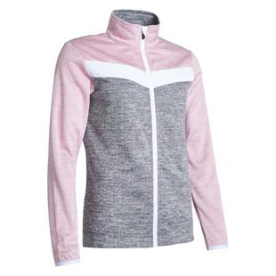 Abacus Fortrose Fleece Jacket - Rosebud/Grey