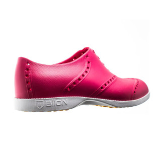 BIION Brights Golf Shoe - Hot Pink/White