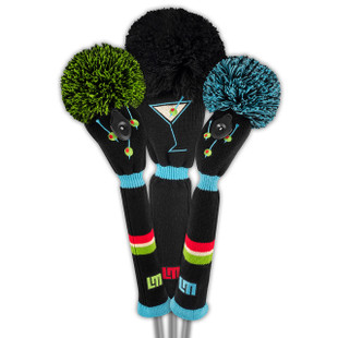 Loudmouth Golf Headcover Set - Tee Many Martoonies
