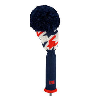 Loudmouth Golf Driver Headcover - Red Blue Tooth