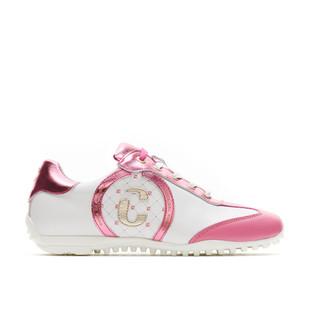 Kubana White / Lilac Golf Shoe