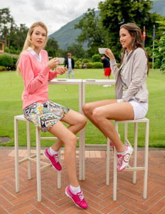 Duca Del Cosma Kubana Golf Shoe - Lilac Pink