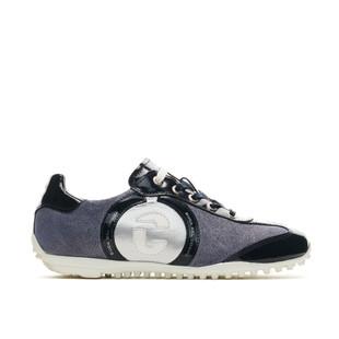 Kubana Navy / Silver Golf Shoe