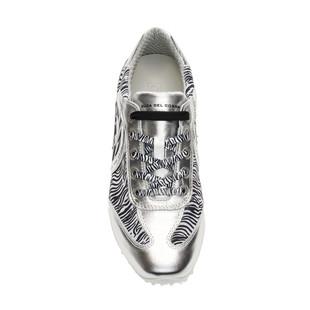 Kubana Silver / Zebra Golf Shoe