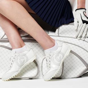Duca Del Cosma Kubana Golf Shoe - White