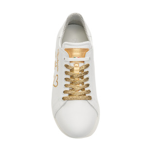Style White / Gold Golf Shoe