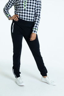 KINONA Tailored Track Trouser - Black