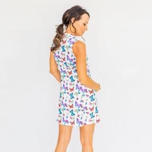 Frontline Sleeveless Golf Dress - Butterfly