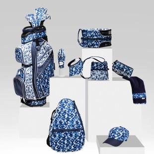 Coil Visor - Blue Leopard