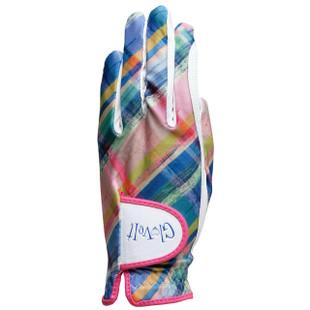 Golf Glove - Plaid Sorbet