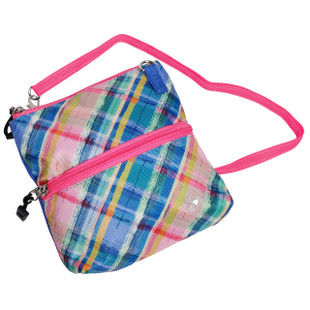 2-Zip Carry All Bag - Plaid Sorbet