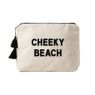 Fallon & Royce Black Crystal Clutch - Cheeky Beach