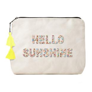 Fallon & Royce Confetti Bead Clutch - Hello Sunshine