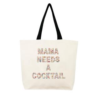 Fallon & Royce Confetti Bead Tote - Mama Needs A Cocktail