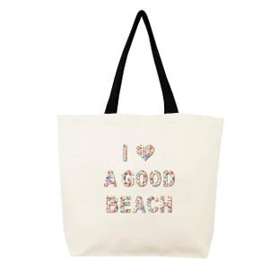 Fallon & Royce Confetti Bead Tote - I Love A Good Beach