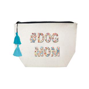 Fallon & Royce Confetti Bead Cosmetic Case - #DogMom