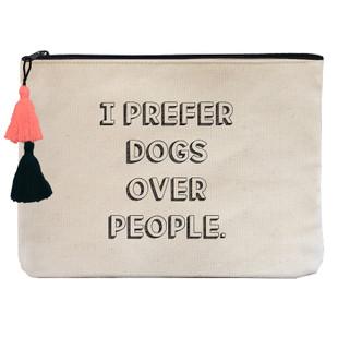 I prefer dogs over people