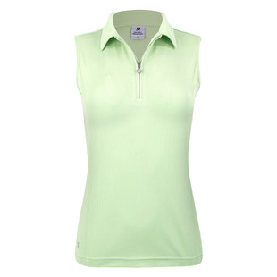 Macy Sleeveless Polo - Spirit
