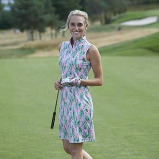 Daily Sports Ebba Sleeveless Dress - Lipstick Pink