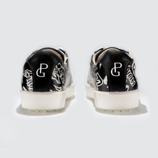 Black/White Golfitti