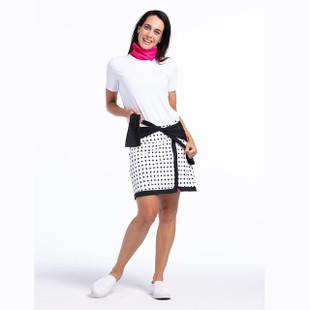 KINONA Tee It Up Short Sleeve Top - White