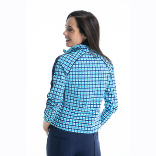 KINONA Layer Up Jacket - Mediterranean Check