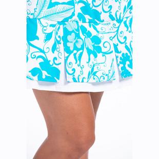KINONA Swing & Swish Sleeveless Golf Dress - Mediterranean Floral