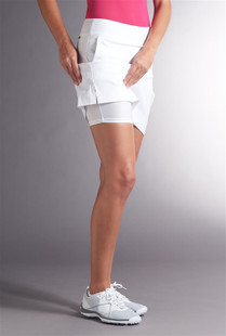 Swing Control Basic Tee Time Skort - Core Solids