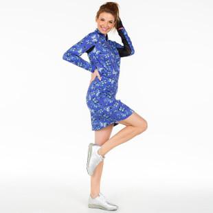 Marissa Pleat Skort - Light Blue