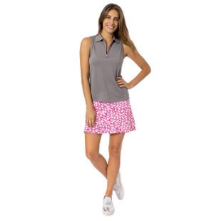 Golftini Pull-On Ruffle Stretch Skort - Sprinkles