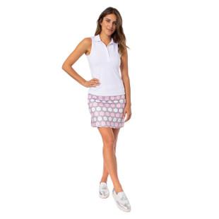 Golftini Pull-On Stretch Skort - Strawberry Shortcake