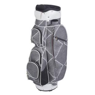 Cutler Mykonos Black/White Golf Bag