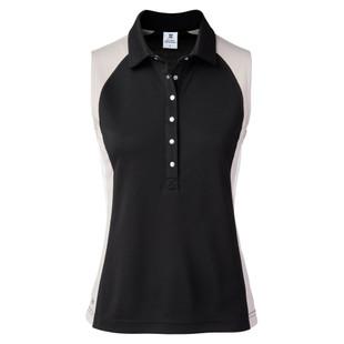 Daily Sports Zenia Sleeveless Polo - Black