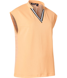 Abacus Sandy Sleeveless Top - Apricot