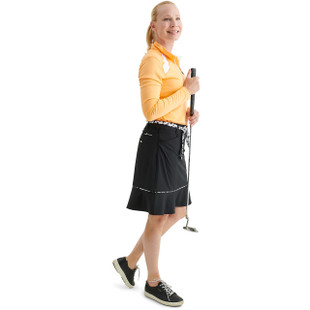 "Abacus Eden 19"" Golf Skort - Black/White"