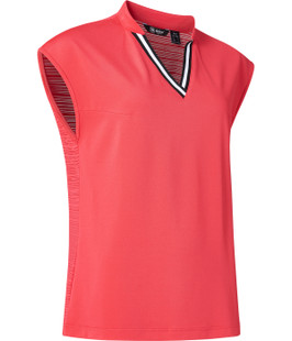 Abacus Sandy Sleeveless Top - Exotic Coral