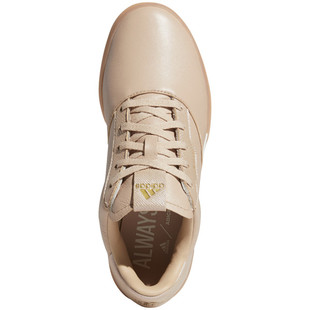 Adidas Adicross Retro Spikeless Golf Shoe - Ash Pearl/Gold Metallic
