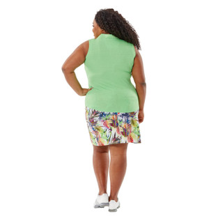 Nancy Lopez Journey Sleeveless Polo (Fashion Solids)