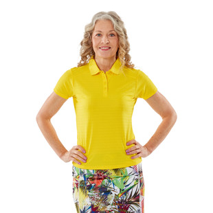 Nancy Lopez Journey Short Sleeve Polo (Fashion Colors)