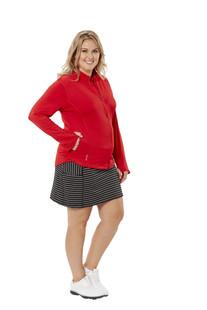 Nancy Lopez Pro Golf Skort - Black/White