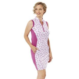 Nancy Lopez Vixen Sleeveless Golf Dress (Fashion Colors)