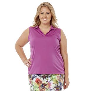 Nancy Lopez Legacy Sleeveless Polo (Fashion Colors)