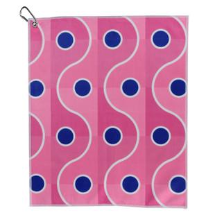 Blue Dot Pink Wave