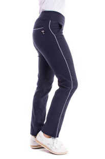 Golftini Trophy Pull-On Stretch Twill Trouser - Navy
