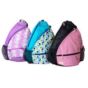 Sassy Caddy Pickleball Sling Bag - Milan
