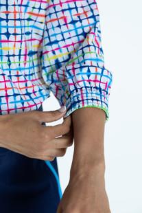 KINONA Swing Easy 3/4 Sleeve Shirt - Blurred Lines