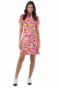 IBKUL Emma Short Sleeve Dress