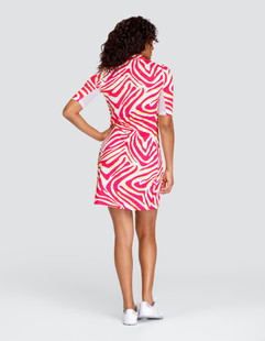 Tail Dee UV50 Short Sleeve Golf Dress - Serengeti