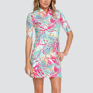 Tail Dee UV50 Short Sleeve Golf Dress - Palm Isles