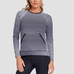 Tail Donella Pullover - Vertigo Stripes